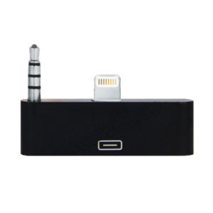 ADAPTADOR CON AUDIO LIGHTNING 30 PIN Imexx  IME-74163