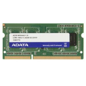 110026-Memoria RAM Laptop DDR3 4 GB ADATA