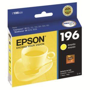Tinta Epson 196 Amarilla Original