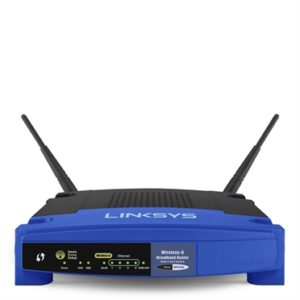 100217-ROUTER INALÁMBRICO WIRELESS-G LINKSYS WRT54GL