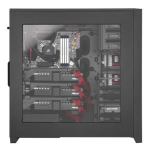 160259-CASE CORSAIR 750D CARBIDE CO-CA ATX FULL TOWER BLK ALUM
