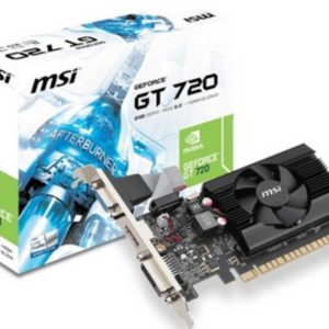 130014-T VIDEO 2GB MSI GT720 DDR3 128BIT/HDMI/V
