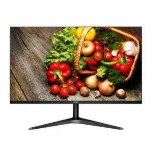 "140160-MONITOR AOC 24"" 24B1H LED WIDE VGA-HDMI NEGRO"