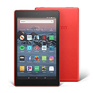 141724-Tablet Amazon Fire HD 8´´ 16gb red