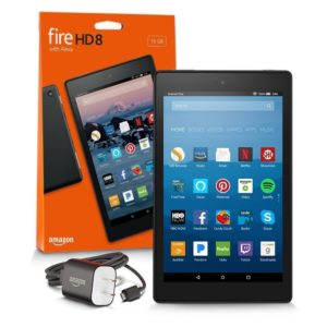 141725-Tablet Amazon Fire HD 8´´ Alexa 16gb NEGRA