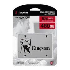 "100239-Disco Estado Solido 480gb Kingston 2.5"" SQ500S37/480G"