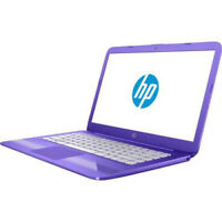 "141773-HP Stream 14-cb0013wm Celeron-N3060 1.6ghz 4gb 32gb eMMC 14"" w10 purpura"