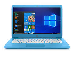 "141774-HP Stream 14-cb011wm Celeron-N3060 1.6ghz 4gb 32gb eMMC 14"" w10 azul"