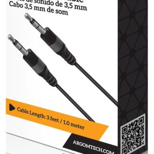 Cable Argom de sonido de 3,5 mm ARG-CB-0035