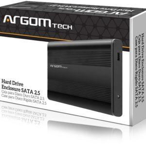 """ENCAPSULADOR 2.5"""" Argom ARG-AC-1030 SATA-USB 2.0"""
