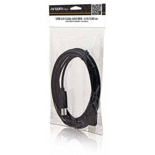 CABLE ARGOM ARG-CB-0039 IMPRESORA USB 2.0 AM/BM