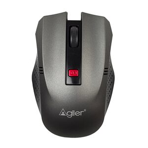 MOUSE AGILER AGI-2095GR INALAMBRICO BLACK AND GREY