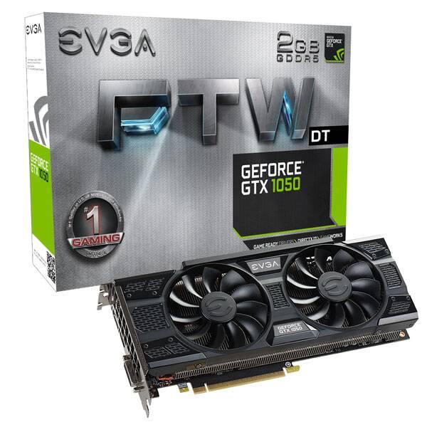 T VIDEO EVGA GEFORCE GTX1050 DT 2GB