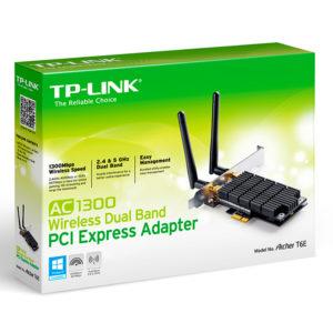 Tarjeta de Red inalámbrica PCI TP-LINK ARCHER T6E AC1300