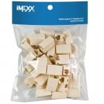 Adaptador IMEXX IME-10231 RJ45 5E UTP INLINE ACOPLE