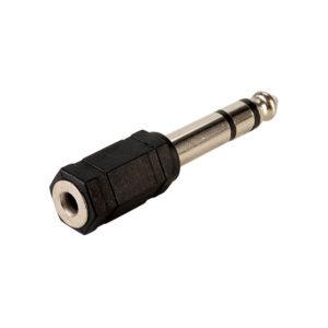 Adaptador IMEXX IME-41295 audio 6.35 macho a 3.5 fem.