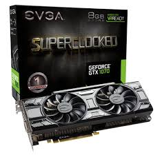 130506-T VIDEO 8GB EVGA GTX1070 GDDR5 SC GAMING